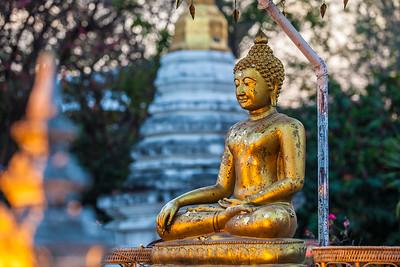 Buddha Statue, Chiang Mai Thailand 2015