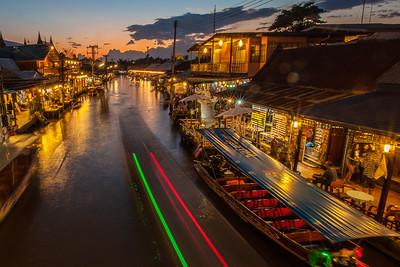 Amphawa floating markets, Thailand 2015