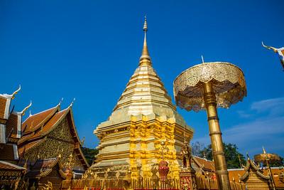 Doi Suthep Temple, Chiang MAi Thailand 2015