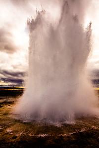 Strokkur Geyser, Iceland 2016