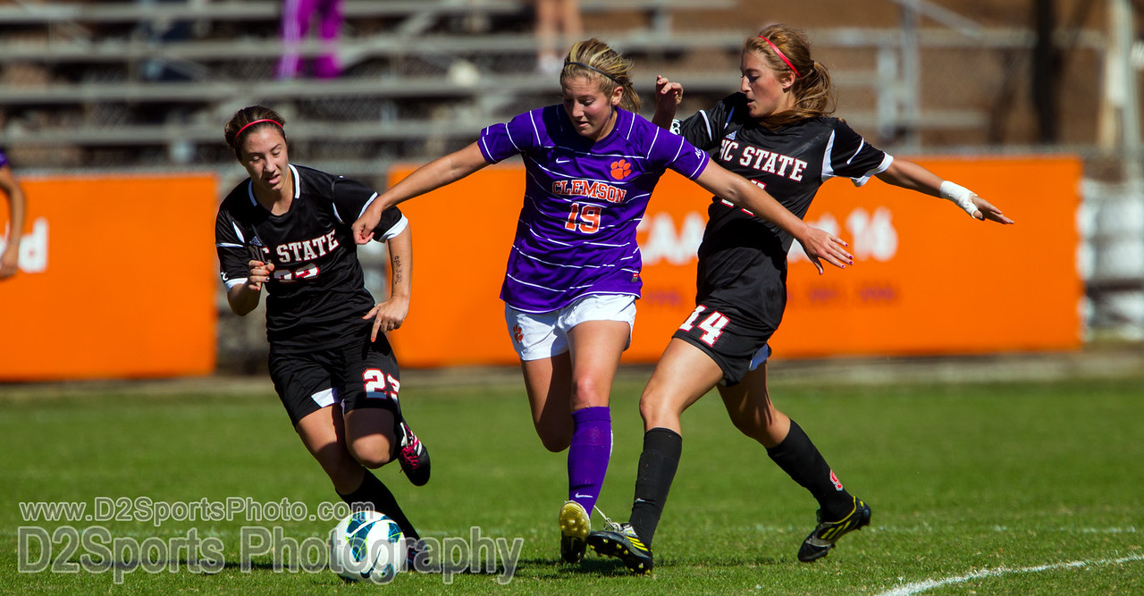 Clemson Tigers vs NC State Wolfpack Women's Soccer