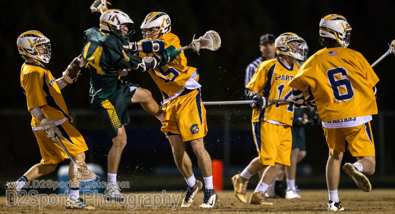 Mt Tabor Spartans vs West Forsyth Titans Men's Varsity LAX