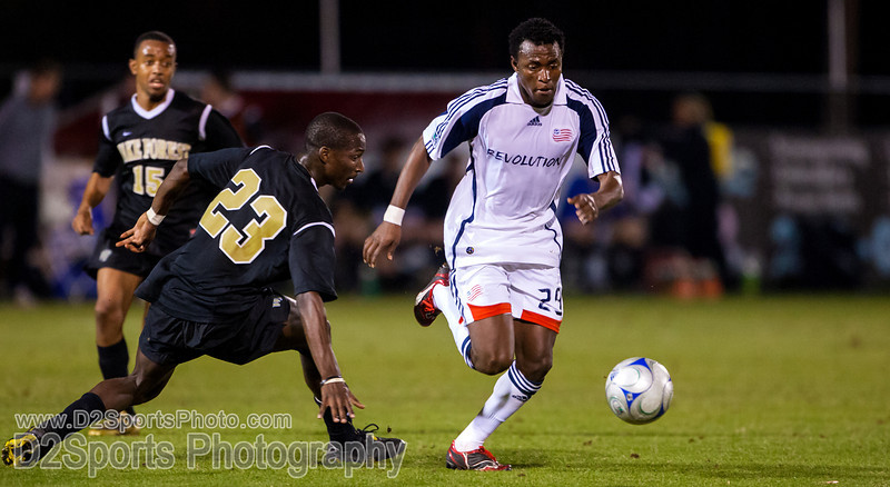 New England Revolution vs Wake Forest Deacons Soccer