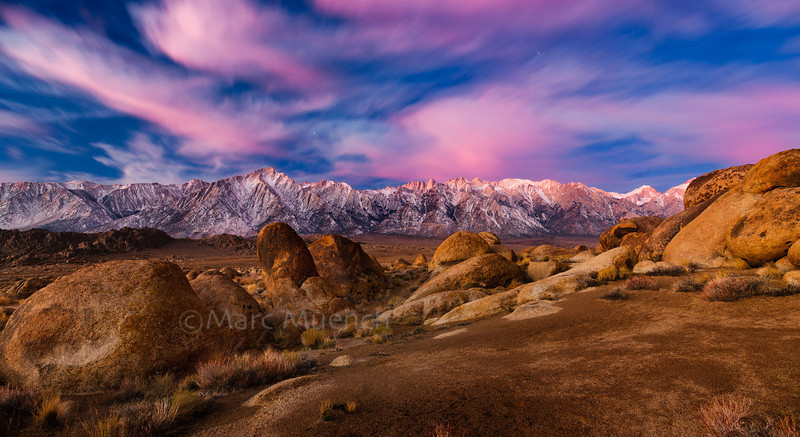 ©Marc Muench - Alabama Hills, Sierra Nevada Mountains California
