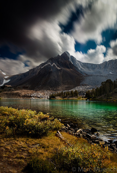 ©Marc Muench, Big Horn Lake, Ansel Adams Wilderness, Sierra Nevada Mountains, California