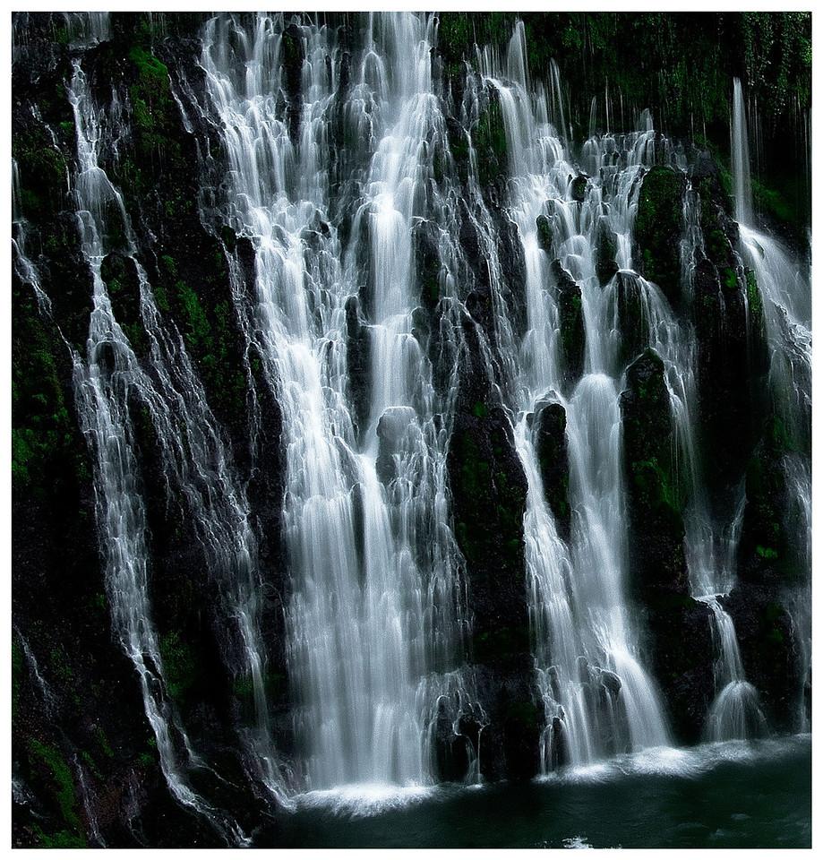 Burney Falls close-up.