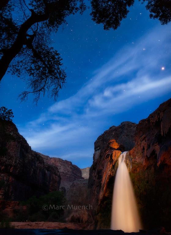 ©Marc Muench - Havasu Falls, Grand Canyon Arizona