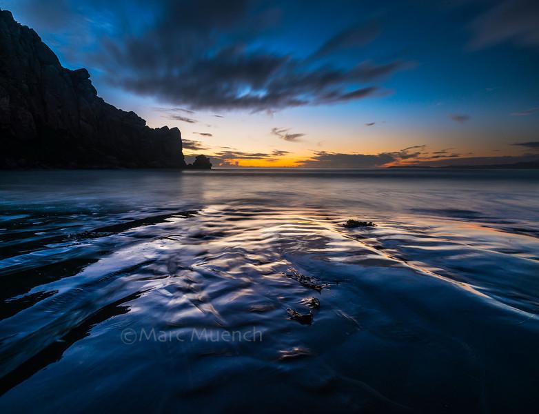 ©Marc Muench - Morro Rock, sunset, California
