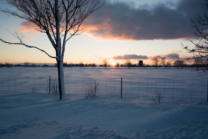 Sunset over the Experimental Farm, Ottawa