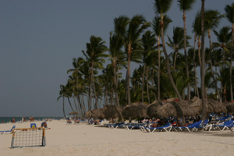Beach at the Bavaro Princess Resort in Punta Cana