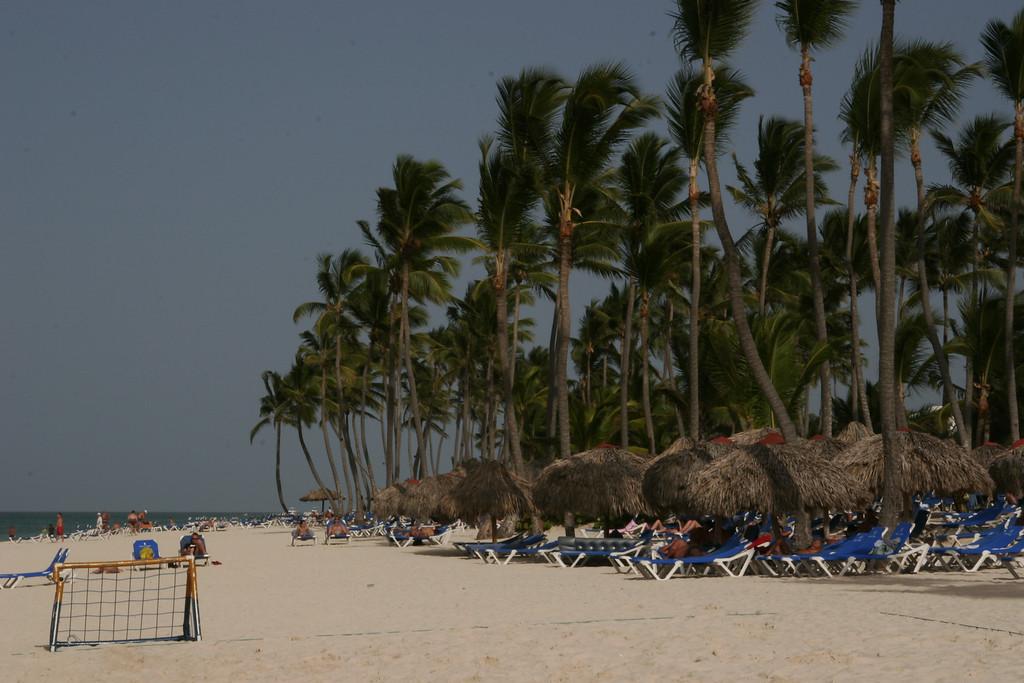 Beach at the Bavaro Princess Resort in Punta Cana