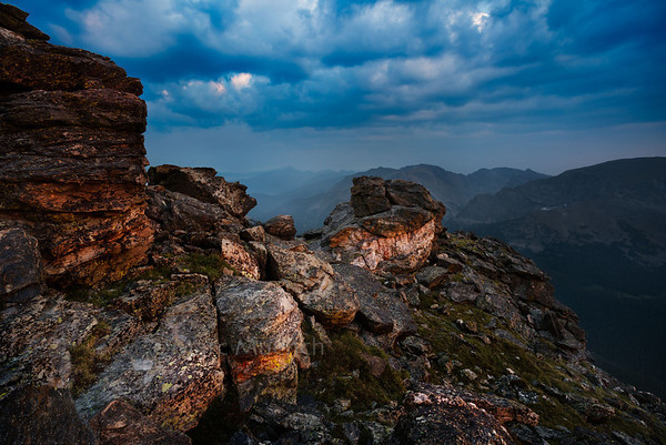 ©Marc Muench - Rock Cut, Trail Ridge Road, Rocky Mountain National Park, Colorado