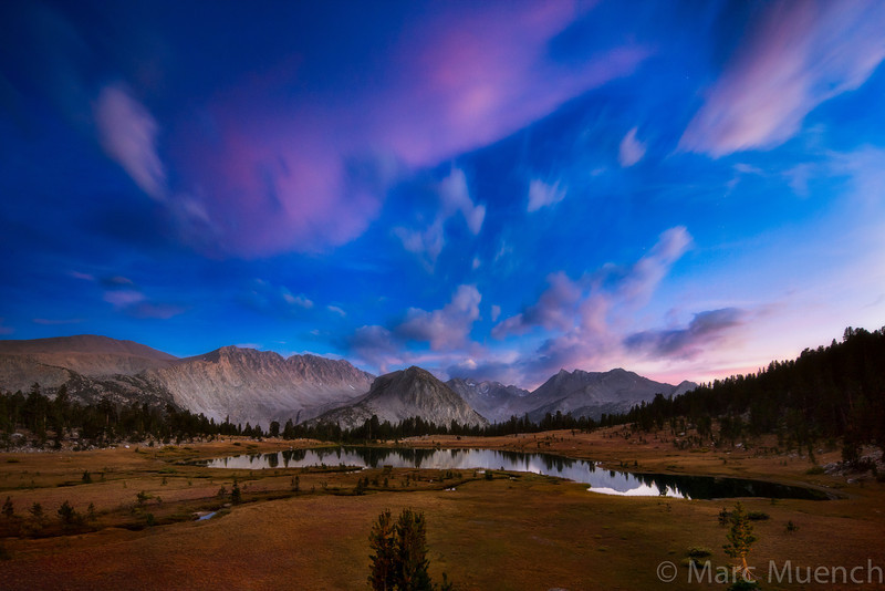 Pioneer Basin, John Muir Wilderness, Sierra Nevada Mountains, California