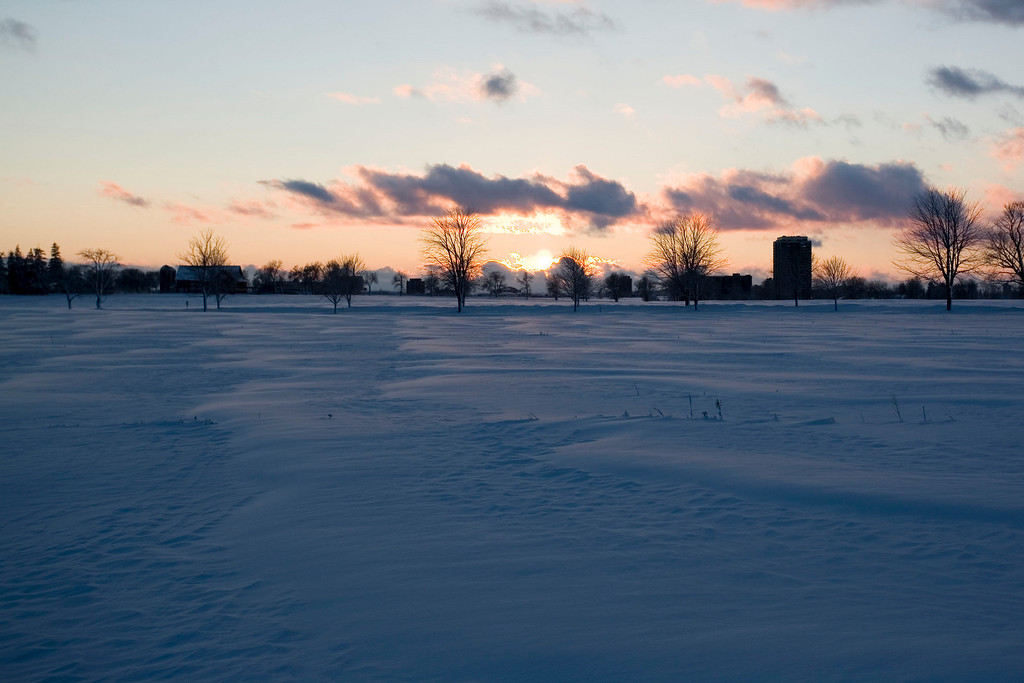 A typical sunset here in Ottawa, when its nice out :-)
