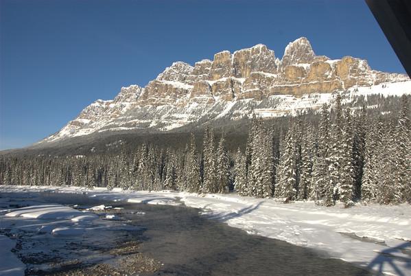 Castle Mountain / Bow River Banff National Park