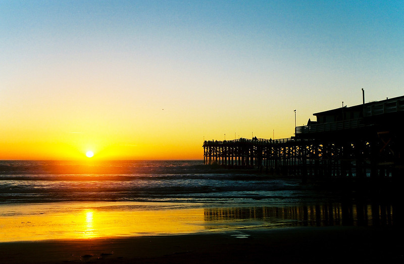Pacific Beach Sunset.