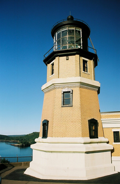 Lighthouse on Lake Superior.