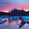 Mount Rundle - Banff NP Alberta Canada