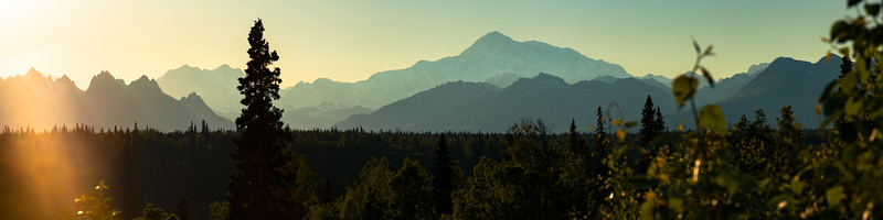 Alaska Range and Denali Panoramic