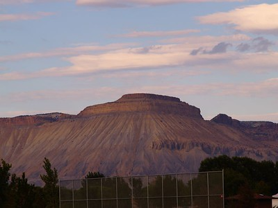 Mt Garfield from Chipeta Golf Course