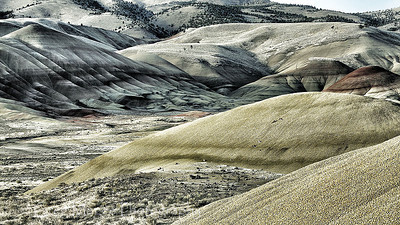 Painted Hills in August