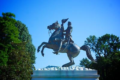 Andrew Jackson Statue Lafayette Square