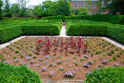 Colonial Governor's Mansion Garden