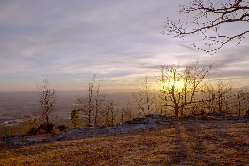 Sunset from Mt. Nebo