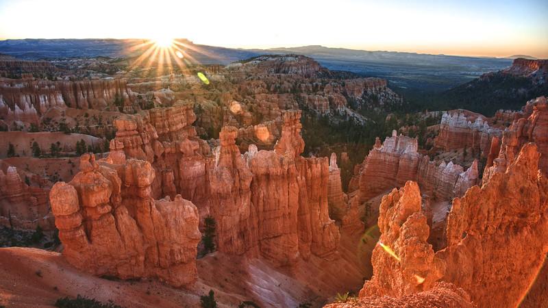 Bryce Canyon National Park at Sunrise