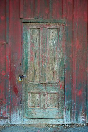 Rustic Aging Wooden Door