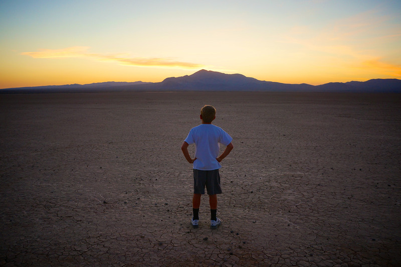Luke Skywalker in Mojave