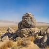 Geologic Rock Formations in Desert