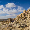 Panoramic Hill of Boulders
