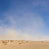 Panorama of Desert Sandstorm