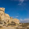 Stacked Sandstone Desert Boulders