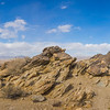 Desert Geological Rock Formation
