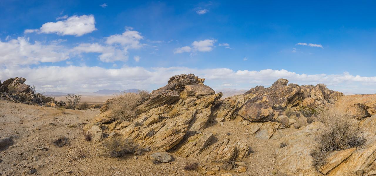 Desert Geological Rock Formation