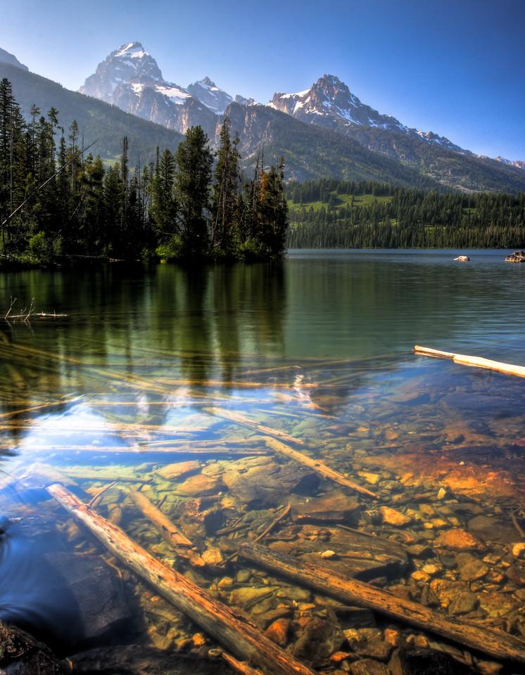 Bradley Lake Grand Tetons Wyoming