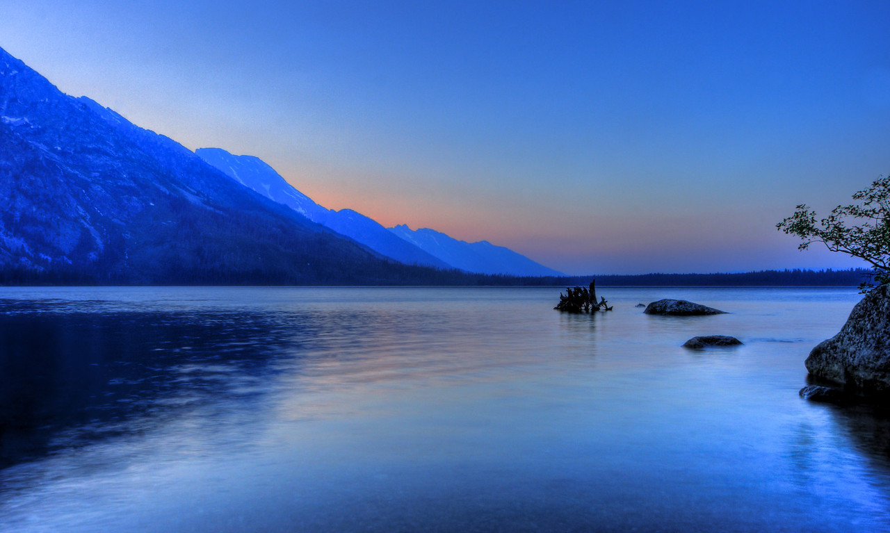 Jenny Lake Grand Tetons Wyoming
