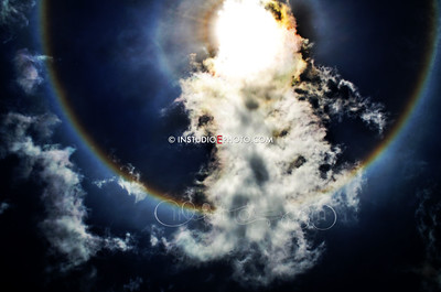 SunDog over North Port Fl 2012