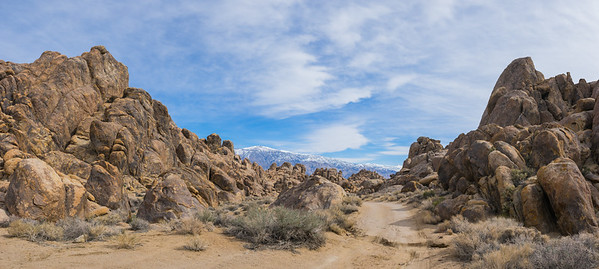 Panoramic View of Alabama Hills