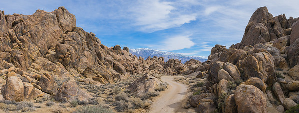 Dirt Road through Alabama Hills