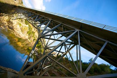 Steel Scaffold of Bridge