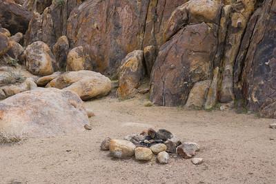 California Desert Campsite