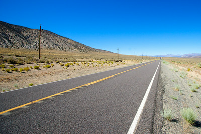 Road Through Nevada Wilderness