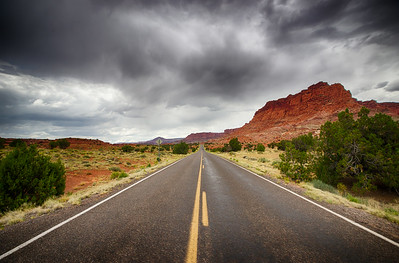 Road through Utah