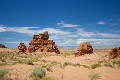 Southwest Desert Rock Formation