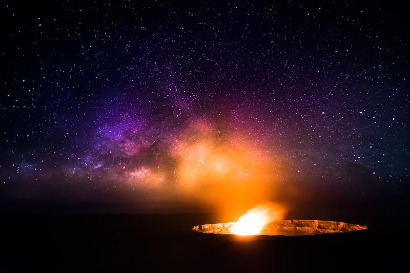 Halemaumau Crater, Kilauea, Hawaii
