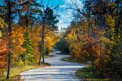 Road to Northport | Door County, WI