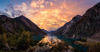 Seton Lake, Lillooet, British Columbia, Canada